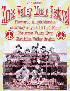 The 2nd Annual Christmas Valley Music Festival